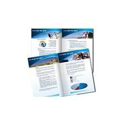 8 pages center pin brochure printing service in gurgaon kwik prints