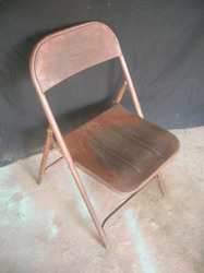 Iron Folding Chair, for School