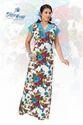 Printed Hosiery Gown