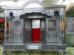 Silver Plated Aluminum Temple