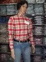 Red Checks Executive Shirt