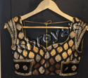 Black And Golden Blouse