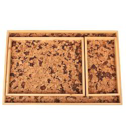 Plastic Multicolor Designer Cork Tray