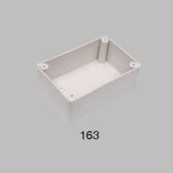 ORSAL White SS BOX, For Electric Fitting, Module Size: SQUARE