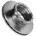 Rm Cast Iron Trailer Brake Disc