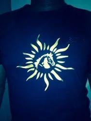 Raising Horse Designer T Shirts Services