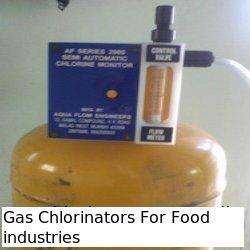 Gas Chlorinator for Food Industries