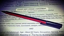 Rent Agreement online Registration (Leave and License)