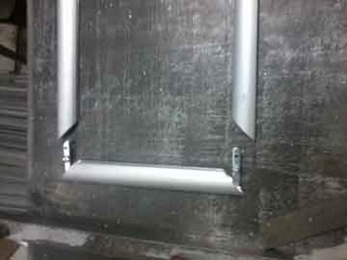 d020263cd4c Aluminium Front Open Clip Frame Snap Frame Profile Section ...
