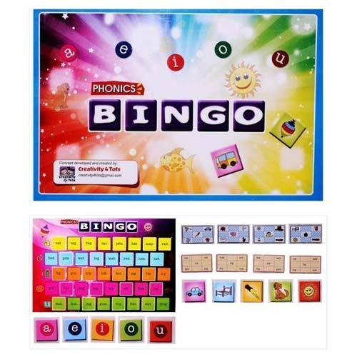 phonics bingo board game
