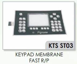 Nuovo Pignone Fast R/p Keypad Membrane