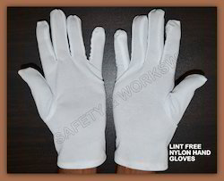 Nylon Cloth Lint Free Hand Gloves 13 Gauze ( MOQ. 2400 PAIR)