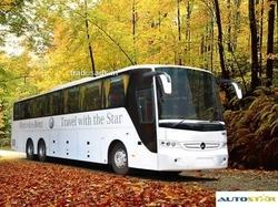 Tempo Traveller Bus On Rent In Mumbai, Seating Capacity: > 45 Seater