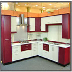 L Shaped Modular Kitchen Part 19
