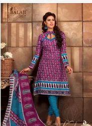 Balaji Pure Cotton Churidar Suit (3223)