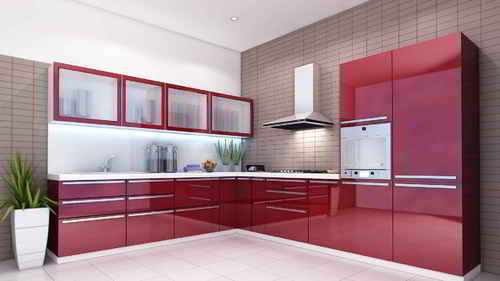 Superieur Sintex PVC Modular Kitchen
