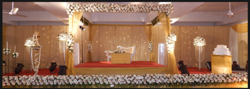 Stage Decoration Kottayam : Baptism stage decoration kottayam