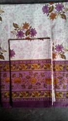 Small Flower Printed Designer Bed Sheet