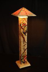 Designer Wooden Floor Lamp