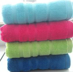 Cotton Bath Towel Vat Dye Towel