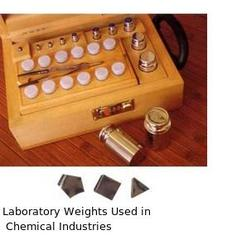 Laboratory Weights Used in Chemical Industries