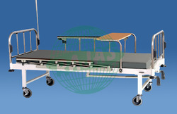 Hospital Bed with Over Bed Table Deluxe