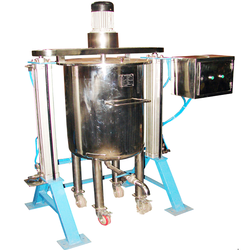 Pneumatic Operated Electrically Driven Mixer