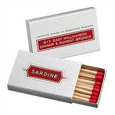 Promotional Matchbox