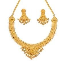 Golden Neckless Set