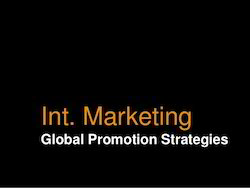 International Marketing And Promotion Service