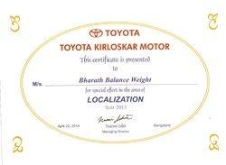 Localisation Award