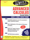 Advanced Calculus, 3/E, (Schaum's Outlines)