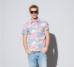 dc36474f Cotton Mens Beach Shirt, Rs 450 /piece, Glory House Global Sources ...