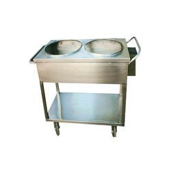Stainless Steel Bain Marie Trolleys