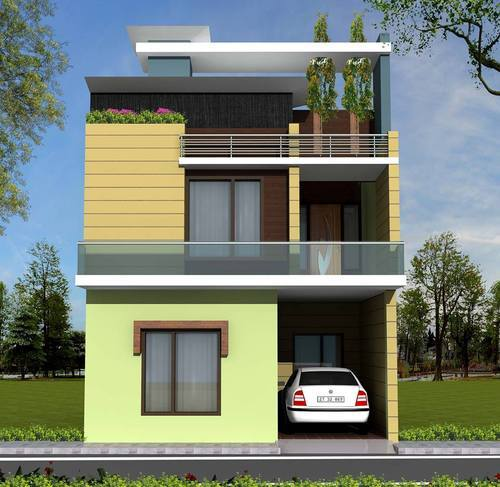 New house designs in punjab india house plan 2017 for Map of kothi design