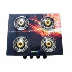 4 Burner Stylish Gas Stove