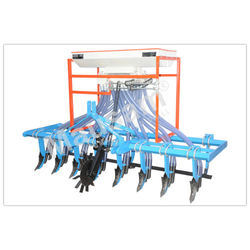 Eight Row Rigid Cultivator Seed Cum Fertilizer Drill
