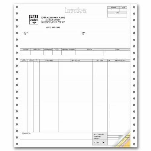 invoice printer paper at rs 100 piece s ramteke nagar nagpur