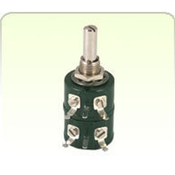 Single Turn Wire Wound Pots 1 Watt Ganged Potentiometer