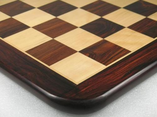 New Wooden Chess Board Dark Brown Rose Wood (17   S1206)