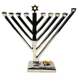 Menorah Candle Holder