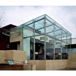 Transparent Frameless Building Glass