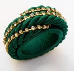 Green Loop Napkin Ring