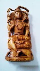Sandalwood Shiva Statue