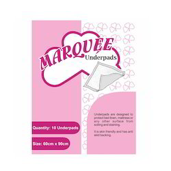 White Marquee Disposable Underpads