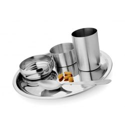 5 Pcs Deluxe Thali Set