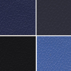 Blue Seat PVC Leather Cloth