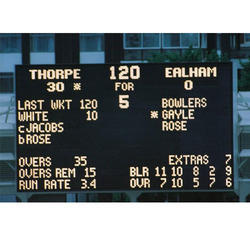 Electronic Score Boards