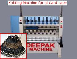 Id Card Lace Knitting Machine