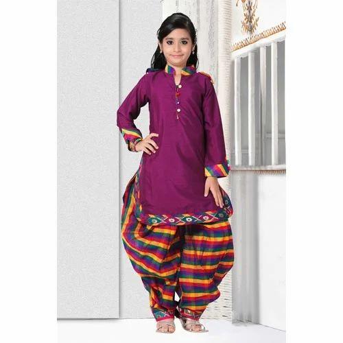 3-5 Year Kids Punjabi Suits, Rs 1548 /piece, Real Choice ...